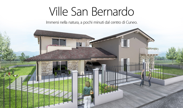 villa in bioedilizia barra&barra a san bernardo di cervasca - cuneo