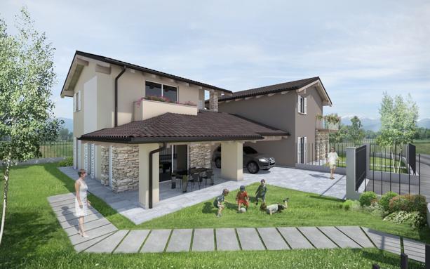 villa in bioedilizia barra&barra a san bernardo di cervasca - cuneo - dettaglio 01
