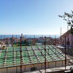 Cantiere di villa con prefabbricato in legno a Riva Ligure Imperia 03a
