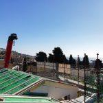 Cantiere di villa con prefabbricato in legno a Riva Ligure Imperia 04