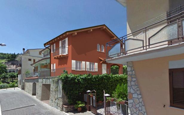 Render di casa in Bioedilizia a Palena in Svizzera