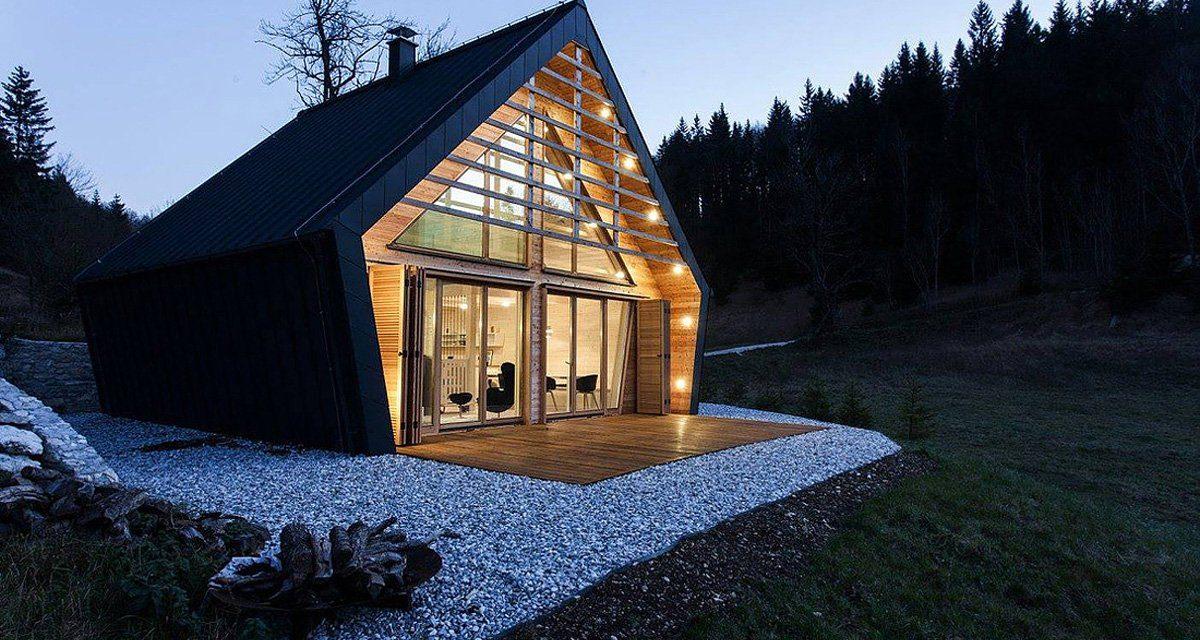 Case in legno d'Europa dal minimo impatto ambientale