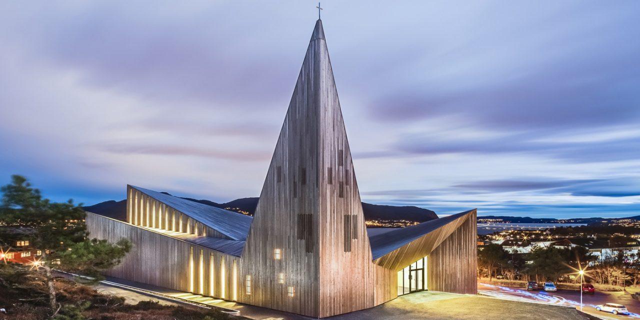 La Chiesa in Legno di Knarvick in Norvegia