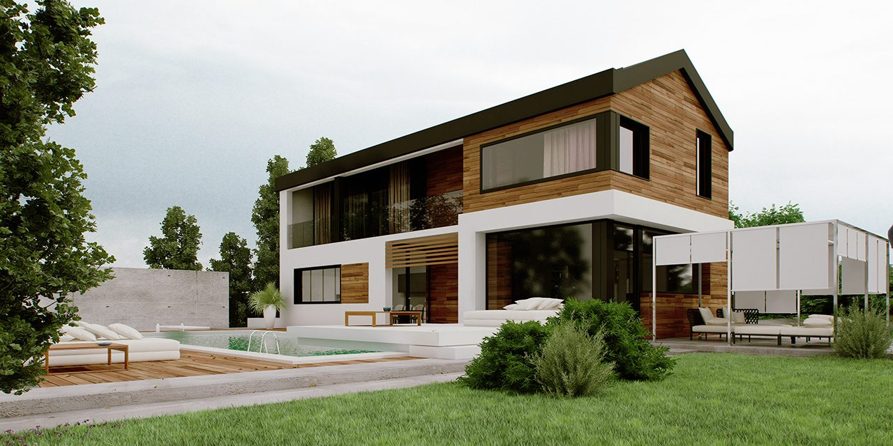 Le pareti delle case in legno e il risparmio energetico