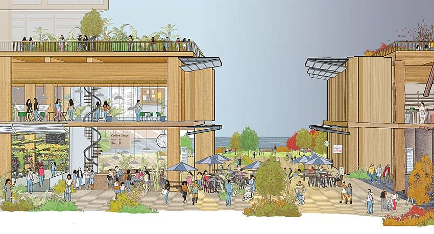 Smart city in legno: Quayside, la città del futuro di Google