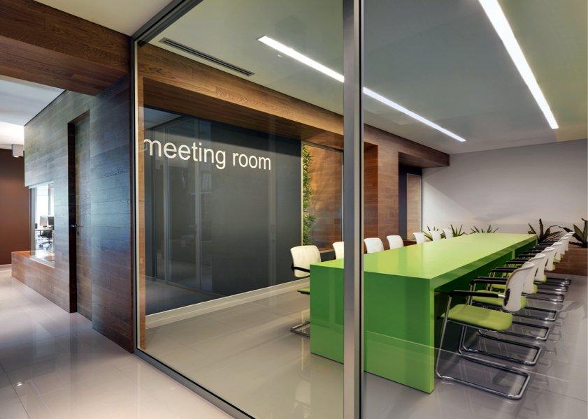 uffici in legno barra e barra meeting room