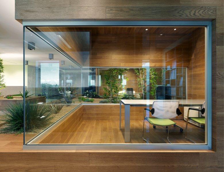Uffici in legno per ambienti di lavoro ottimali. La sede di Barra&Barra