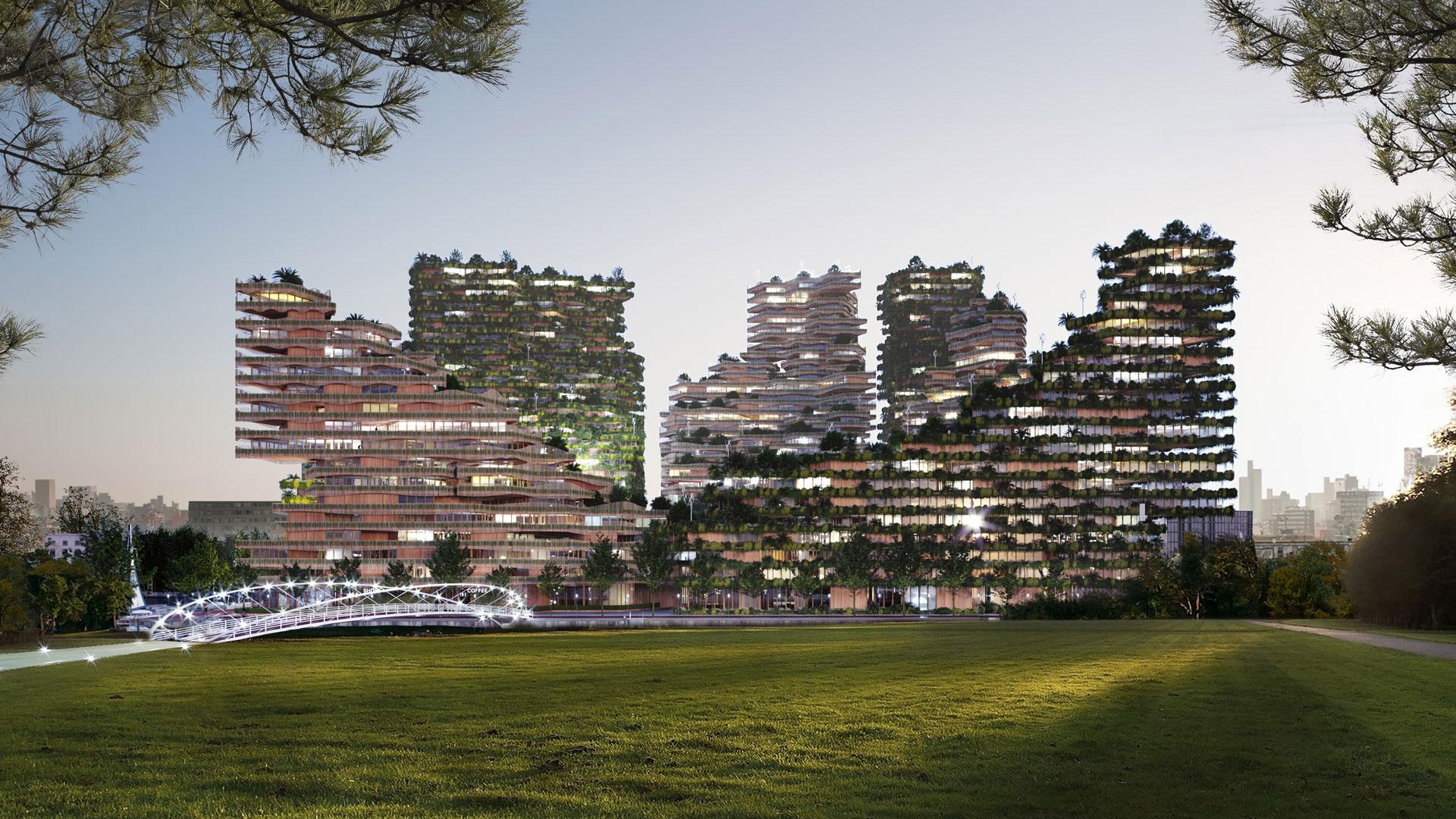 La biofilia è il futuro dell'architettura? Il progetto GG – loop