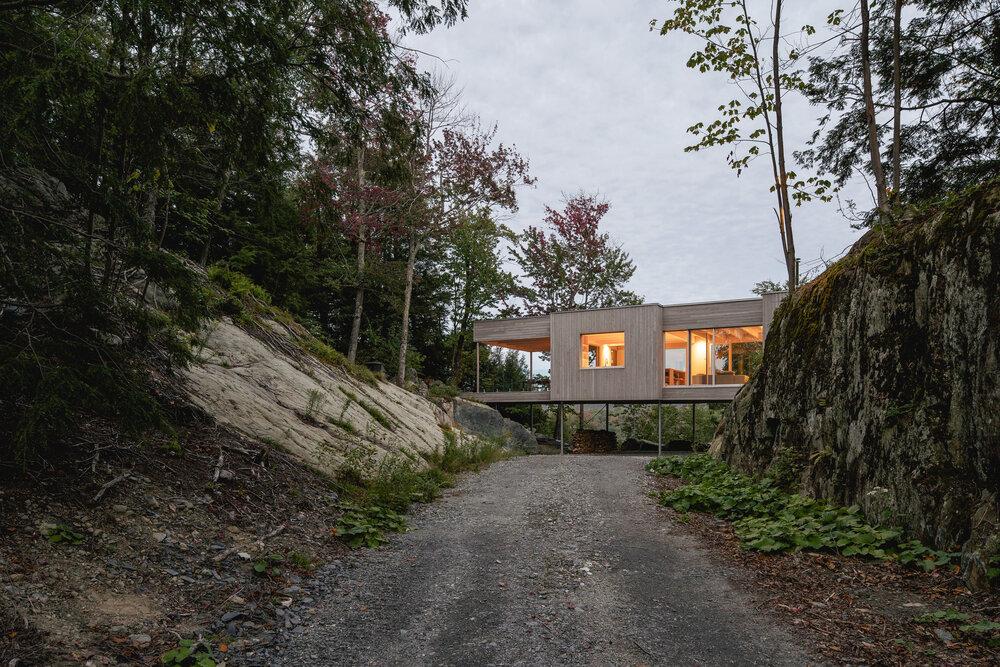 Legno, design e natura: il progetto Maison Foret in Canada