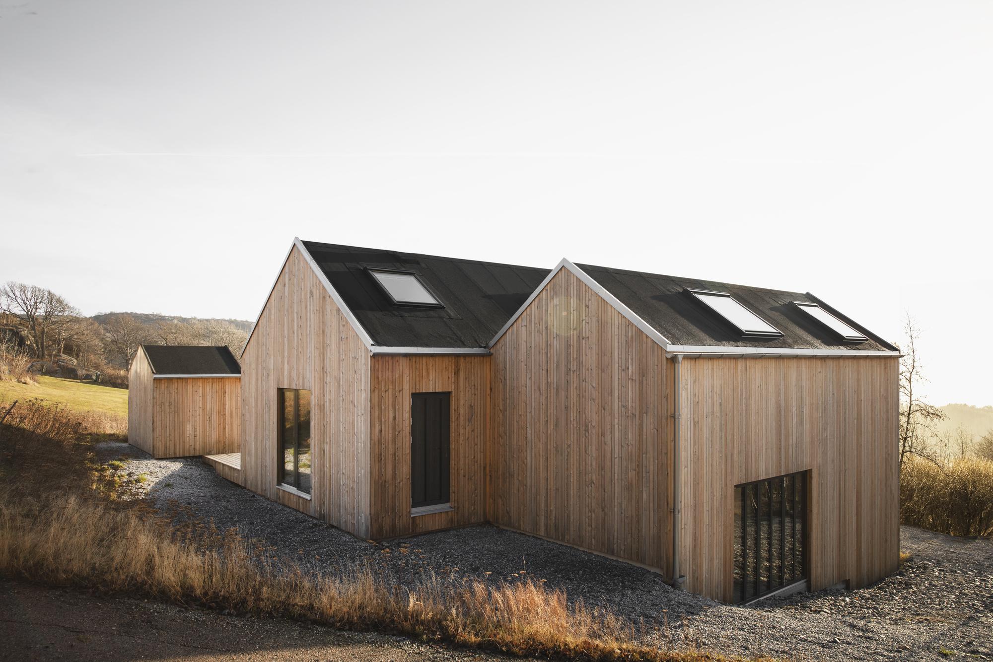 """La """"casa dell'arcipelago"""" in Svezia"""
